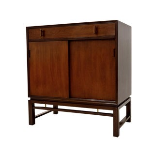 Edward Wormley for Dunbar Mahogany Cabinet For Sale