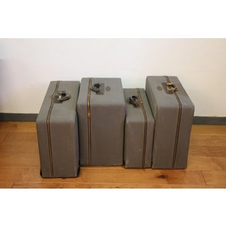 Vintage Goat Skin Set of 4 Luggages Preview