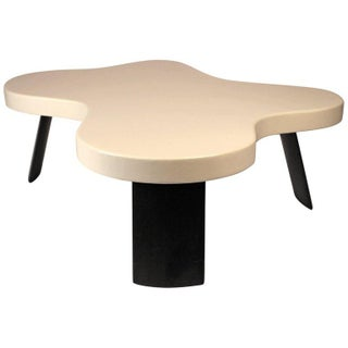Paul Frankl Lacquered Cork 'Amoeba' Cocktail Table