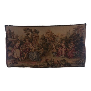 Early 20th Century Belgian Tapestry For Sale