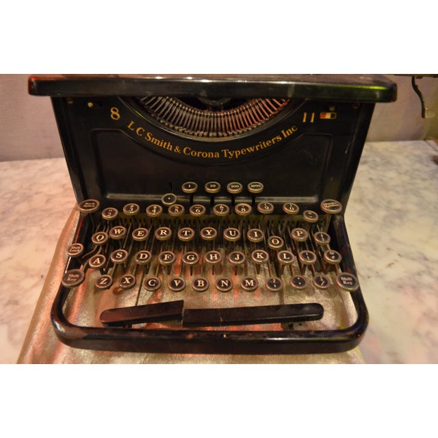 Lc Smith & Corona Typewriter For Sale In Chicago - Image 6 of 7