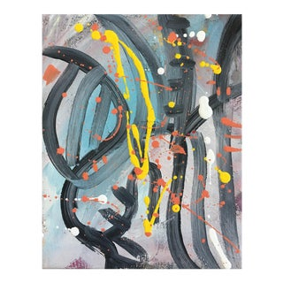 No. 202 Original Abstract Painting On Canvas For Sale