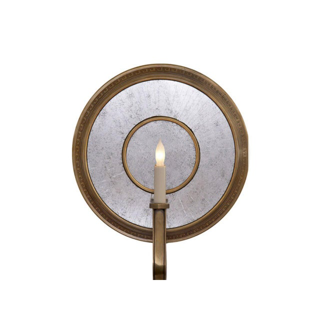 Modern Modern Lilac Round Wall Sconce For Sale - Image 3 of 3