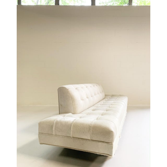 Adrian Pearsall Adrian Pearsall Sofa in Brazilian Cowhide For Sale - Image 4 of 13