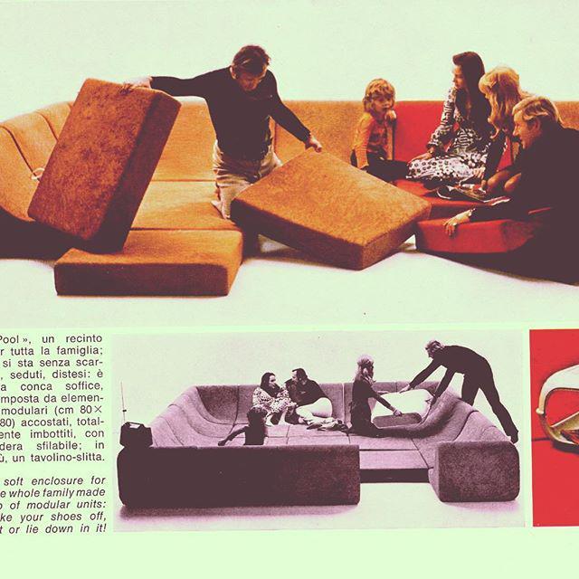 Mid Century Modern Space Age Panton Colombo Era Luigi Colani Pool Sofa For Sale - Image 10 of 11