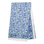 Aria Tablecloth, 6-seat table - Lavender & Blue