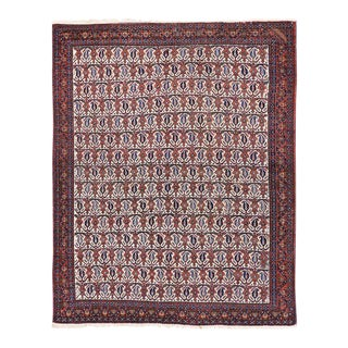 Antique Persian Afshar Rug - 05'01 X 06'03 For Sale