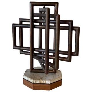 Kinetic Sculpture Noted Artist Dennis Stewart For Sale