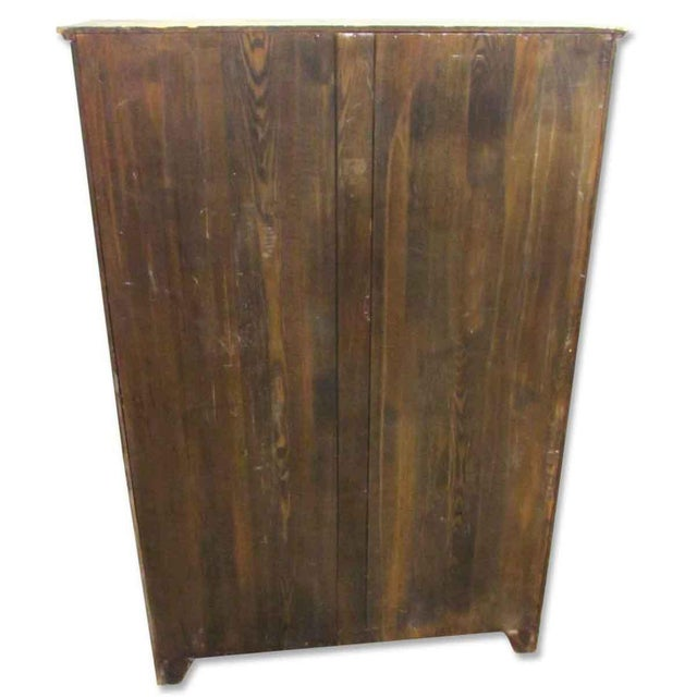 Vintage Wall Bookcase For Sale - Image 4 of 4