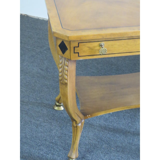 Pair of Regency Style End Tables For Sale - Image 4 of 13