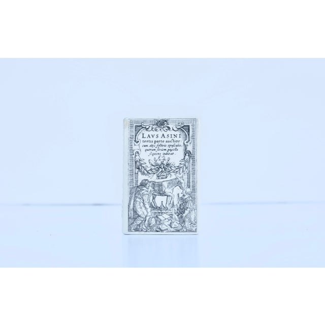 1950s Fornasetti Paperweight For Sale - Image 5 of 5