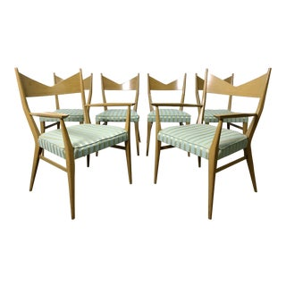 Set of 6 Paul McCobb Irwin Calvin Dining Chairs 1950's