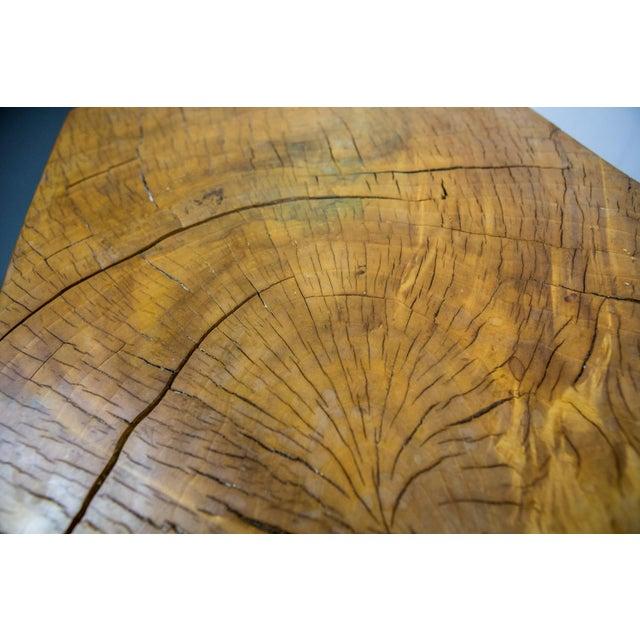 Tan Huge Solid American Studio Coffee Table or Stool by Howard Werner For Sale - Image 8 of 8