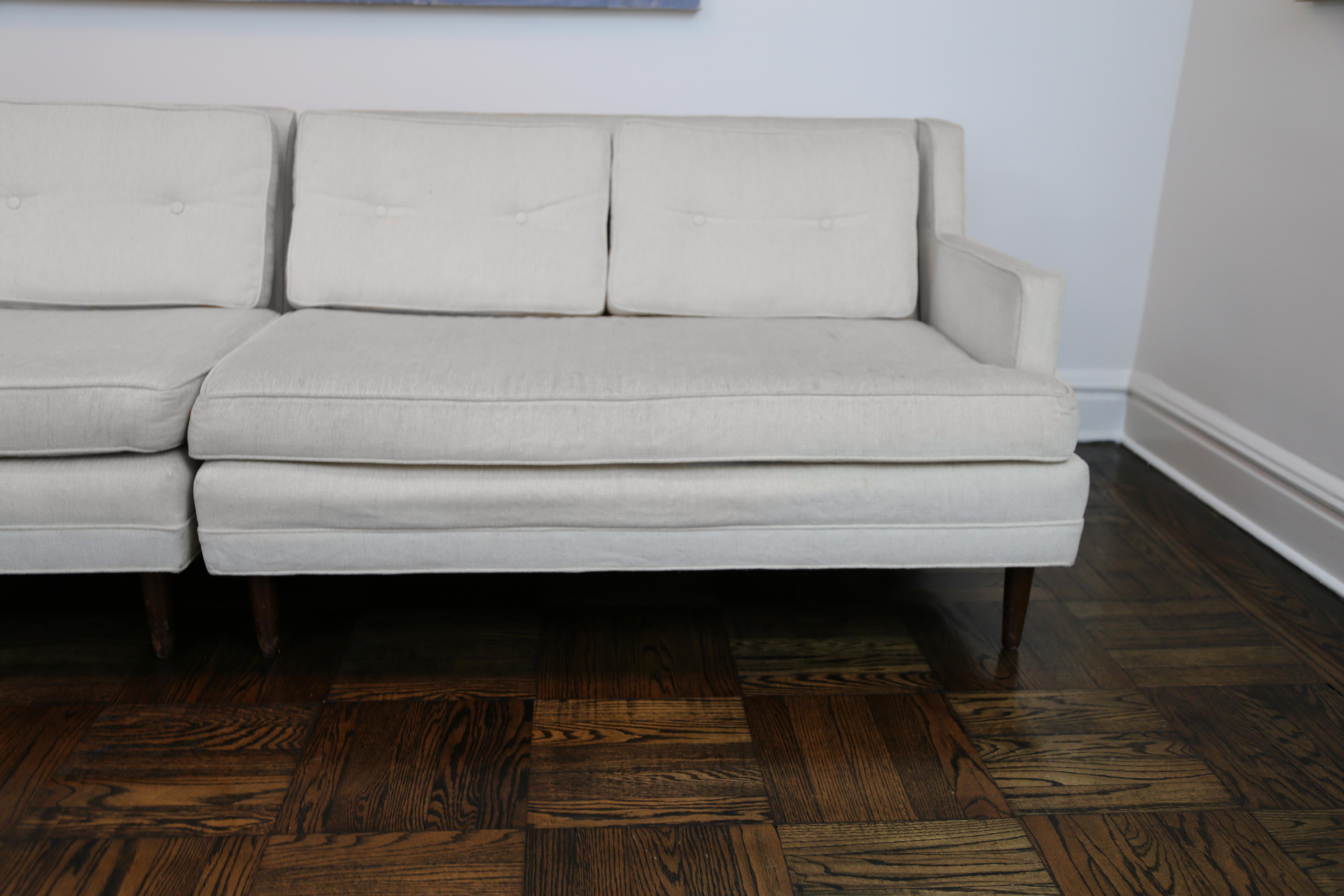 1940s Mid Century Modern Edward Wormley Sofa
