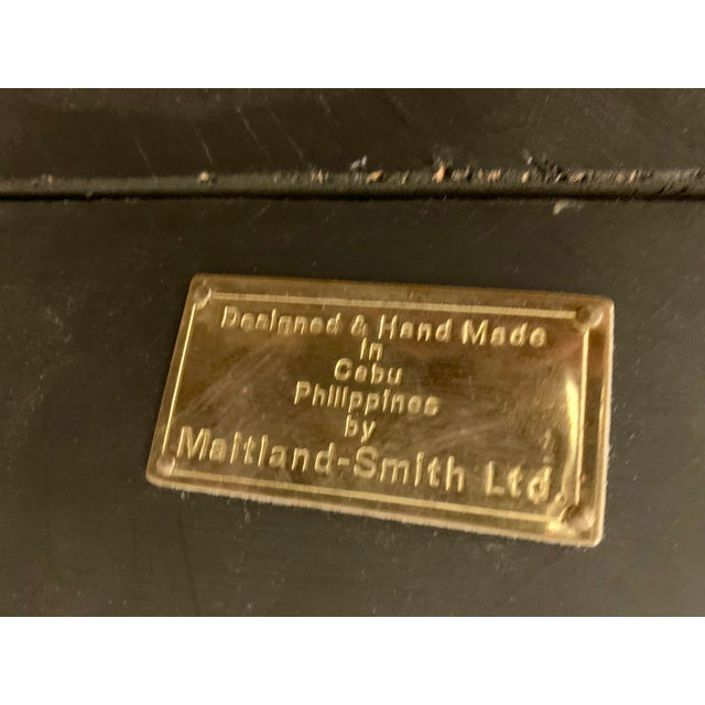 Maitland - Smith Maitland-Smith Tasselated Console and Mirror For Sale - Image 4 of 9