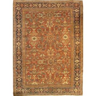 "Pasargad Antique Persian Mahal Lamb's Wool Rug - 8'8"" X 12'2"" For Sale"