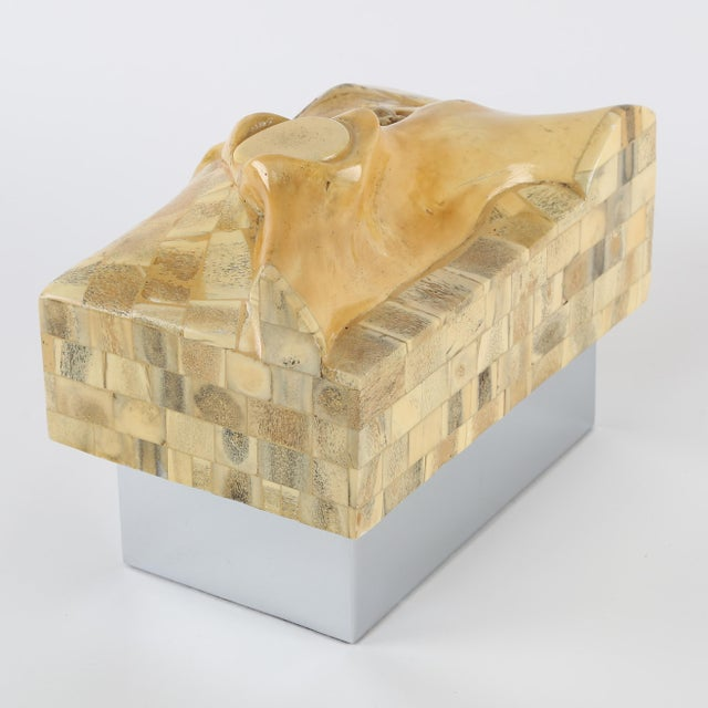 GENE JONSON AND ROBERT MARCIUS BONE AND NICKEL BOX, CIRCA 1970S - Image 3 of 10