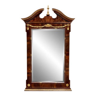 Scarborough House Hand Carved Wall Mirror For Sale