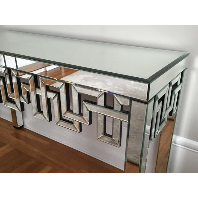 Mirrored Designer Console Table - Image 6 of 7