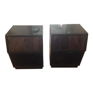 Henredon Scene Three Nightstands - A Pair For Sale