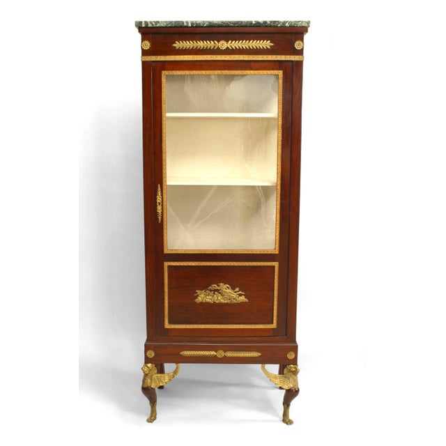 French Empire Style Display/Vitrine Cabinet For Sale In New York - Image 6 of 6