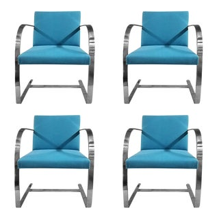 Knoll Brno Flat Bar Chairs - Set of 4