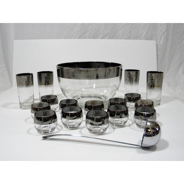 Mid-Century Modern Mid-Century Modern Dorothy Thorpe Punch Set a - 18 Pieces For Sale - Image 3 of 4