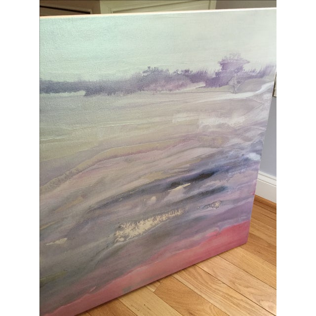 """Quartz"" Painting on Canvas by E. Maynard For Sale - Image 7 of 7"