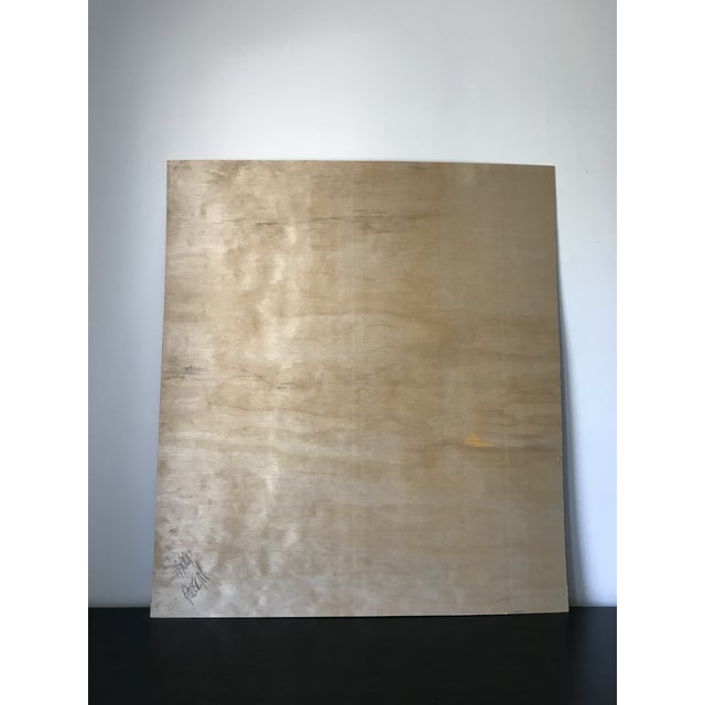 Rounded Abstract Oversized Painting For Sale - Image 4 of 6