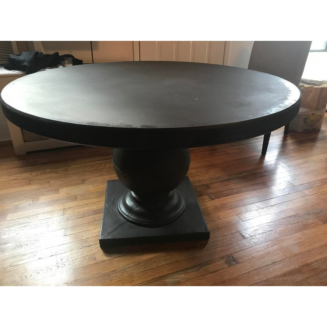 Grey Concrete Round Dining Table - Image 8 of 11