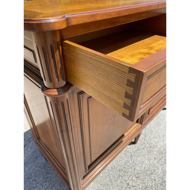 Wood French Louis XVI Style Fruitwood Sideboard For Sale - Image 7 of 11