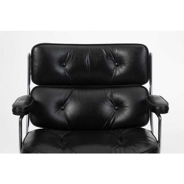 Black Eames Time Life Lobby Chair for Herman Miller For Sale - Image 8 of 13