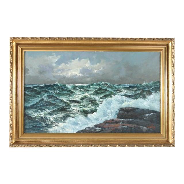 Erik Theodor Carlberg, Seascape For Sale