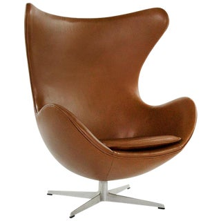 Arne Jacobsen for Fritz Hansen Egg Chair, Denmark, 1966 For Sale