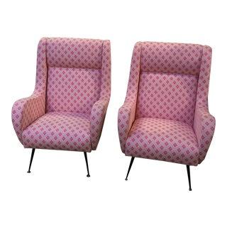 Gio Ponti Lounge Chairs - A Pair