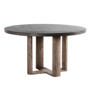 Lucia Round Cement Dining Table For Sale
