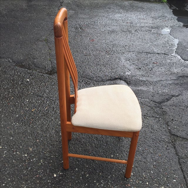 Teak Chairs by Benny Linden - Set of 6 - Image 7 of 11