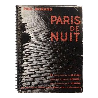 """Brassaï """"Paris de Nuit"""" 1933 Book"""
