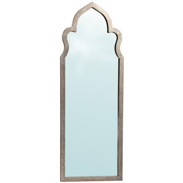 Moorish Arched Wooden Mirror - Image 1 of 2