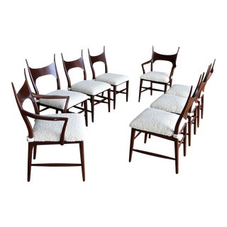 Edward Wormley 5580 Dining Chairs for Dunbar, 1950s For Sale