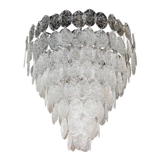 Monumental Multi-Tiered Chandelier by Vistosi For Sale