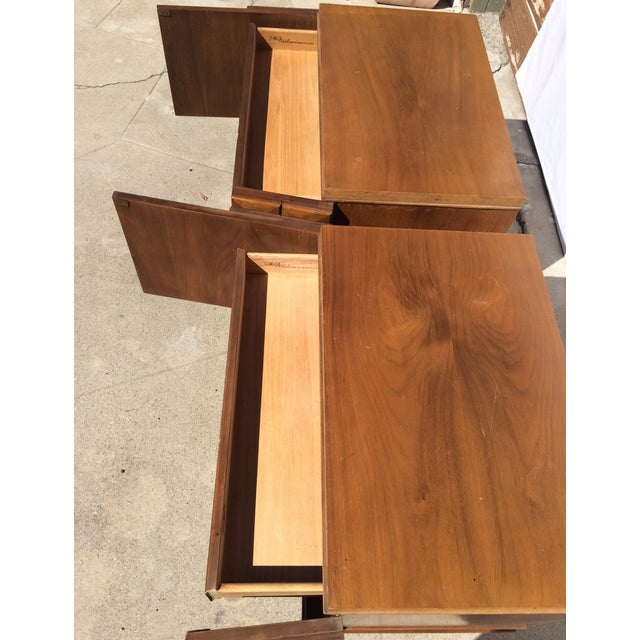 American Martinsville Mid-Century Side Tables Pair - Image 5 of 11