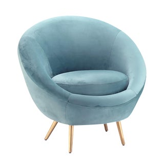 Modern Velvet Bubble Chair For Sale