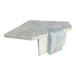 Post Modern Memphis Style Coffee Table For Sale