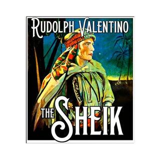 "Rudolph Valentino ""The Sheik"" Fine Print"