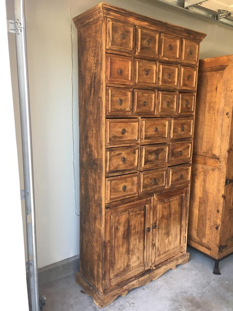 Reclaimed Fishing Boat Wood Indonesian Cabinet   Image 3 Of 5
