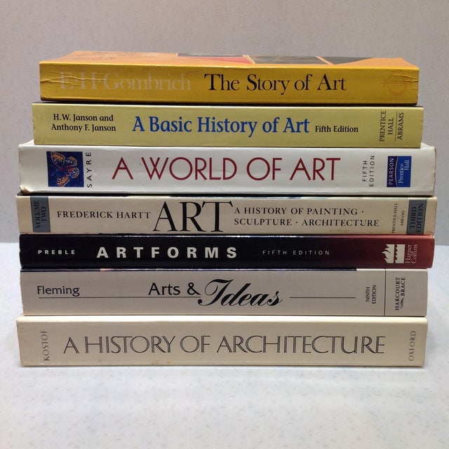 Stack of Art Textbooks - Set of 7 - Image 2 of 11
