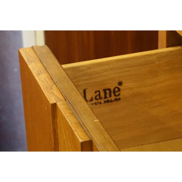 Mid-Century Lane Brutalist Dresser For Sale In Palm Springs - Image 6 of 7