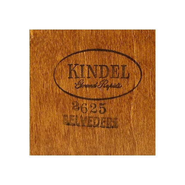 Kindel Furniture 1960s Kindel Furniture Wall Mirror For Sale - Image 4 of 5