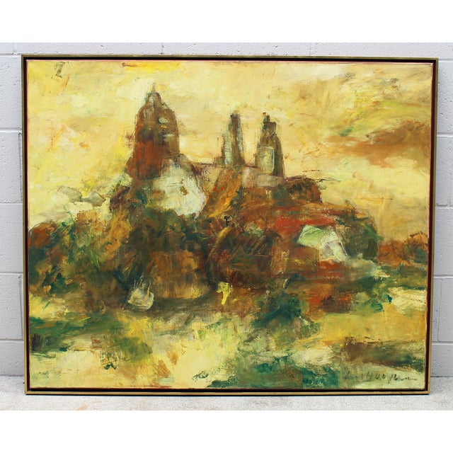 Hugo Paul Ten Houpen Painting - Yellow Towers - Image 2 of 8